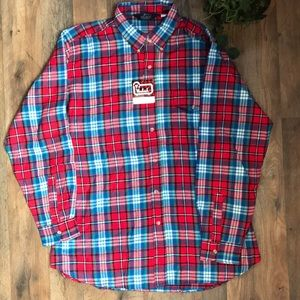 Vintage Men's Woolrich Flannel Button Down Shirt